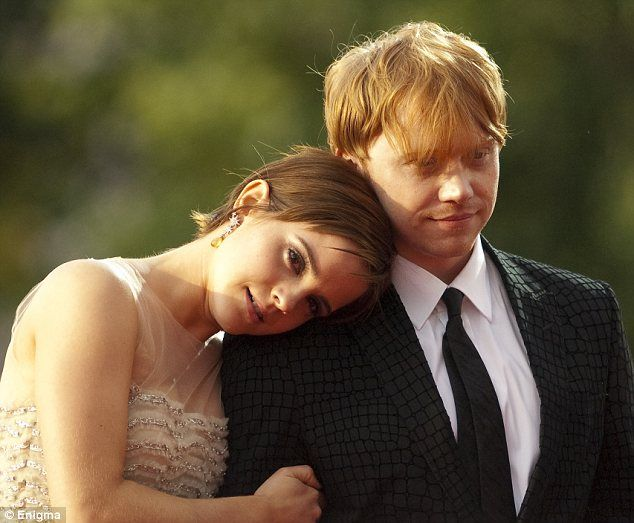 Hermione and Ron older