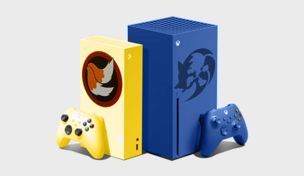 Special edition Sonic Xbox console