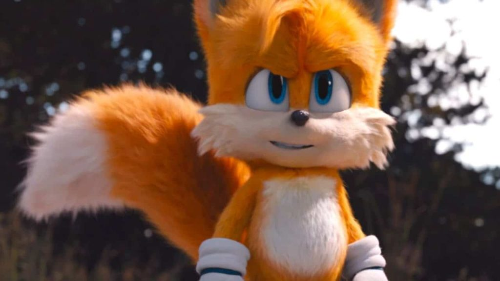 Tails in Sonic The Hedgehog 2020 movie