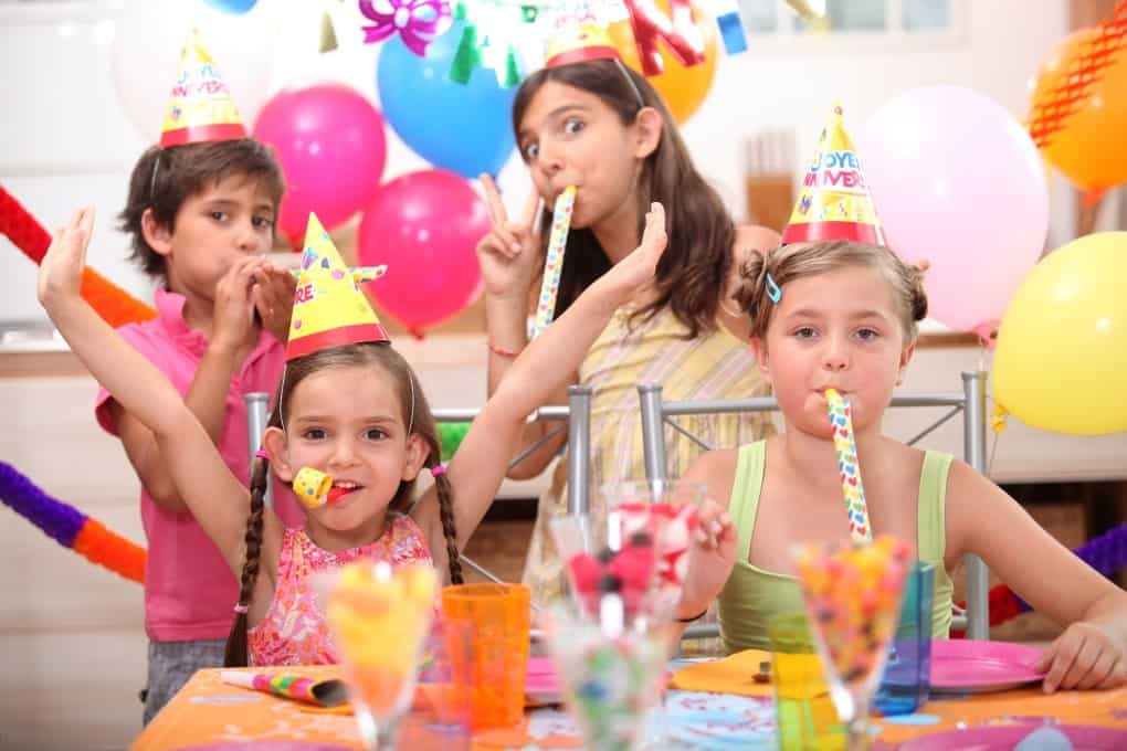 Young girl's birthday party