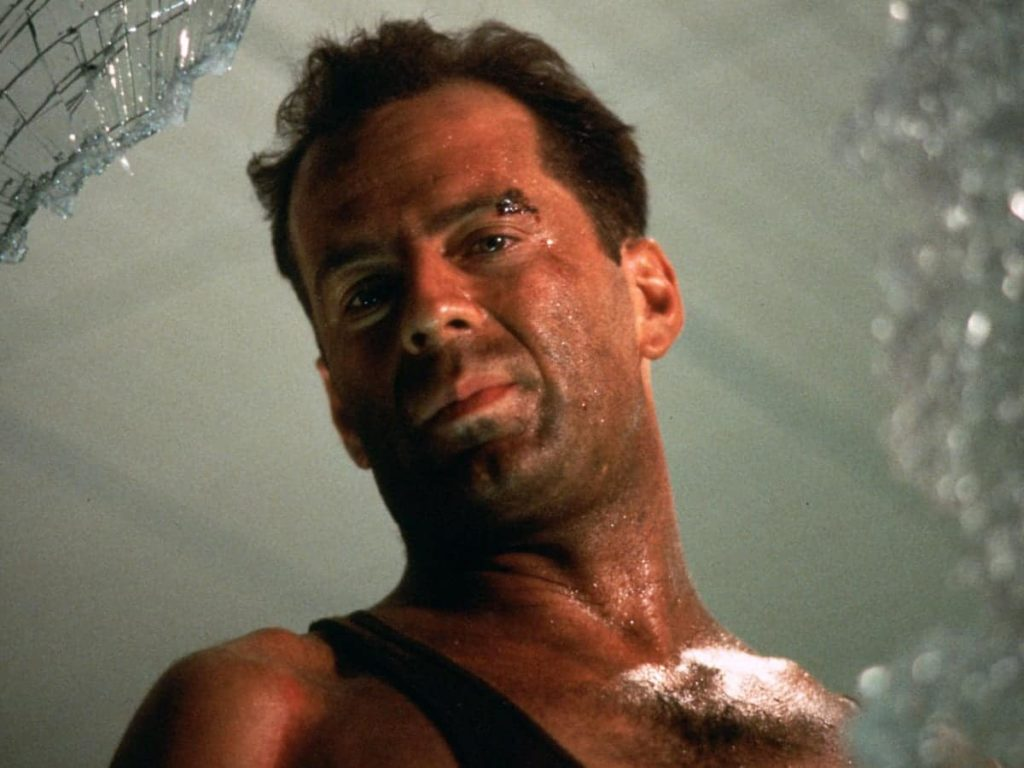 Bruce Willis, 33, Die Hard