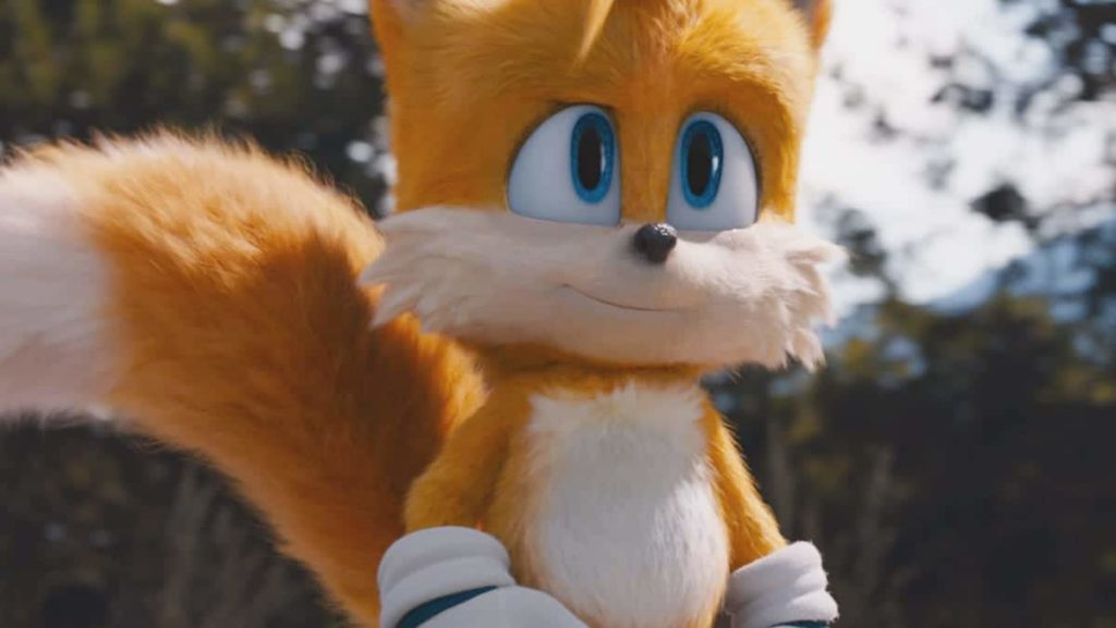 """Miles """"Tails"""" Power Sonic 2 movie"""