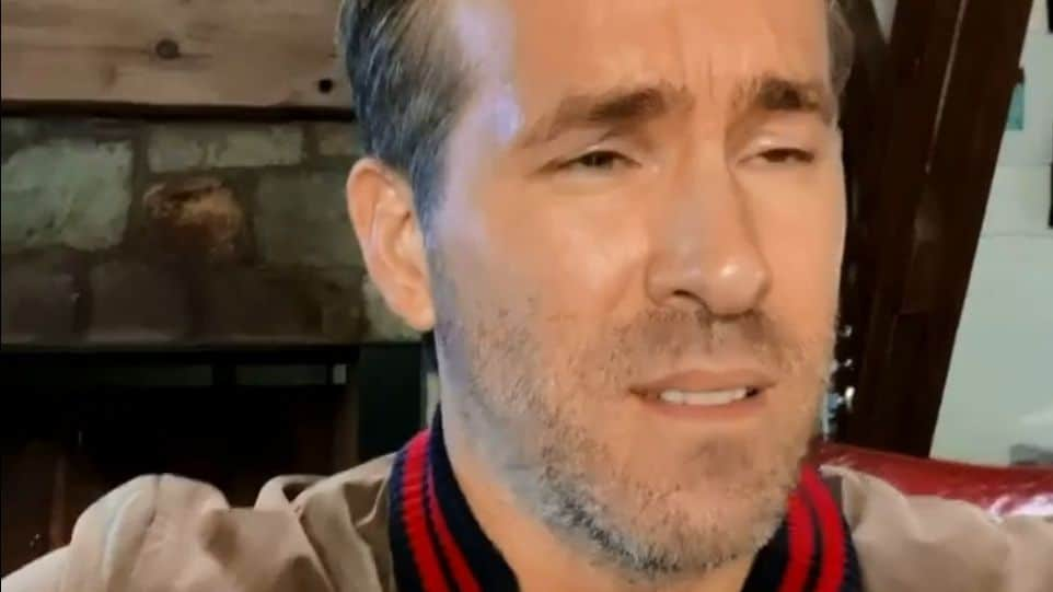 Ryan Reynolds disappointed