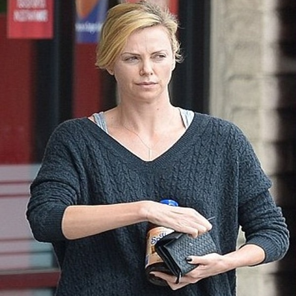 Theron no makeup old