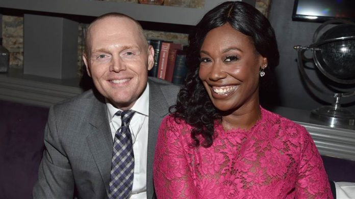 Bill Burr and his black wife attacked after 2021 GRAMMYS feminist joke