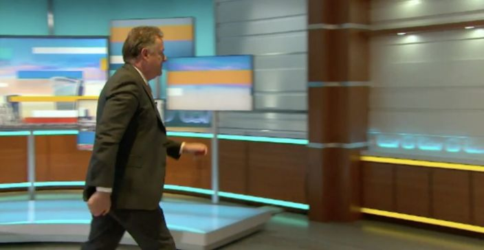 Piers Morgan walks off GMB set and resigns