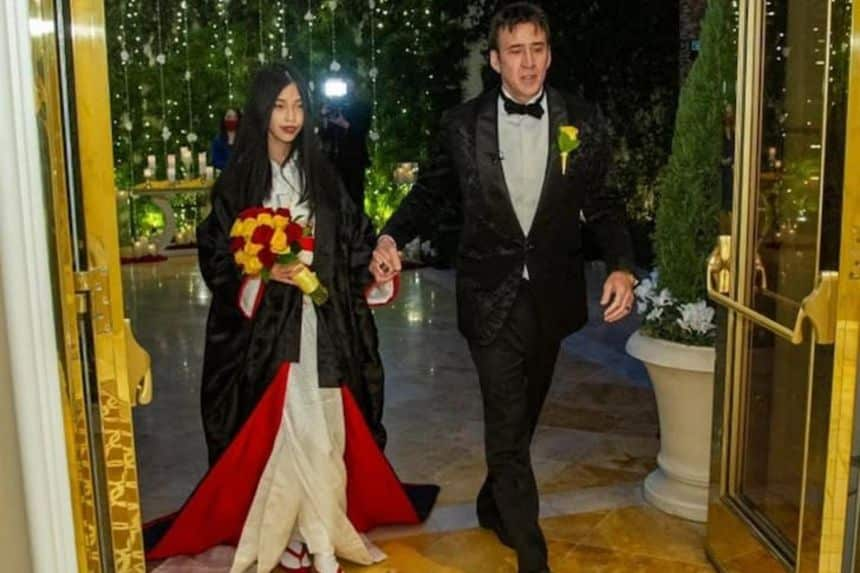 Nicholas cage getting married